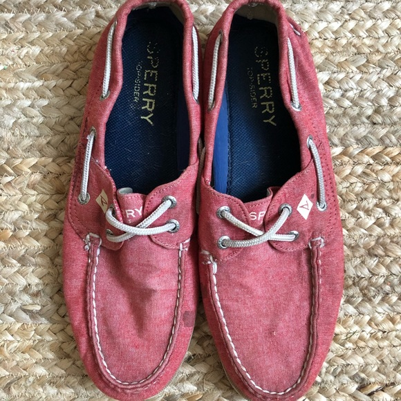 Sperry Shoes   Top Sider Mens Canvas